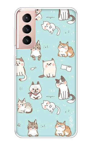 Cat Kingdom Samsung Galaxy S21 Plus Cases & Covers Online