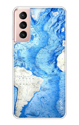 World Map Samsung Galaxy S21 Plus Cases & Covers Online