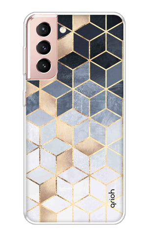 Cubical Pattern Case Samsung Galaxy S21 Plus Cases & Covers Online