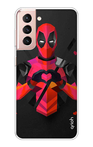 Valentine Deadpool Samsung Galaxy S21 Plus Cases & Covers Online
