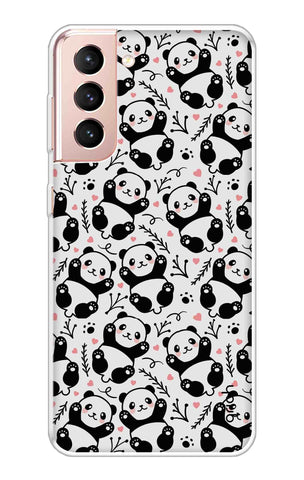 Adorable Panda Case Samsung Galaxy S21 Cases & Covers Online