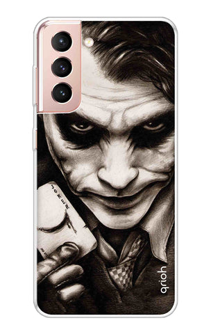 Why So Serious Samsung Galaxy S21 Cases & Covers Online
