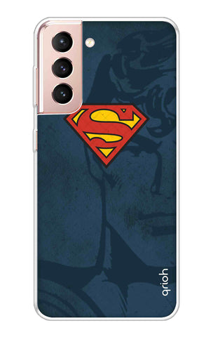 Wild Blue Superman Samsung Galaxy S21 Cases & Covers Online