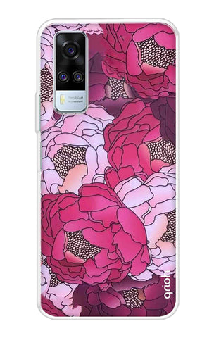 Vector Floral Vivo Y51A Cases & Covers Online