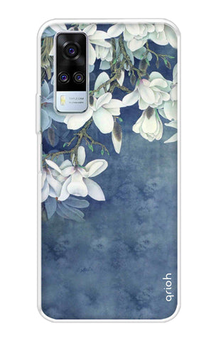 White Flower Vivo Y51A Cases & Covers Online