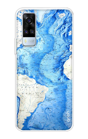 World Map Vivo Y51A Cases & Covers Online