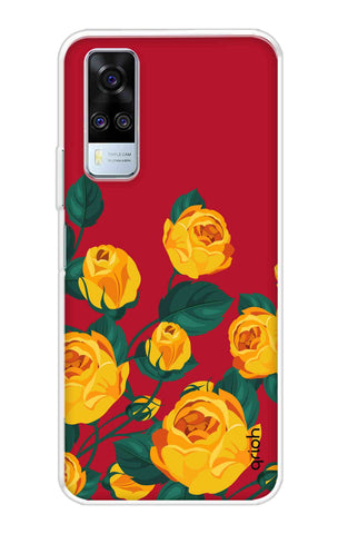 Yellow Floral Case Vivo Y51A Cases & Covers Online