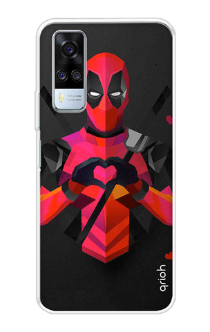 Valentine Deadpool Vivo Y51A Cases & Covers Online