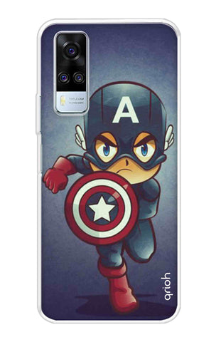 Toy Capt America Vivo Y51A Cases & Covers Online