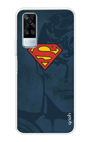 Wild Blue Superman Vivo Y51A Cases & Covers Online