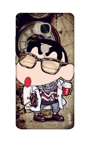 Nerdy Shinchan Honor 5X Cases & Covers Online