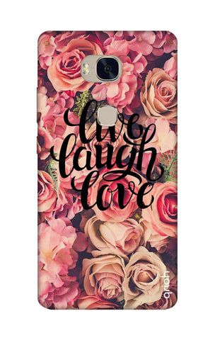 Floral Live, Laugh, Love Honor 5X Cases & Covers Online
