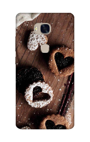 Heart Cookies Honor 5X Cases & Covers Online