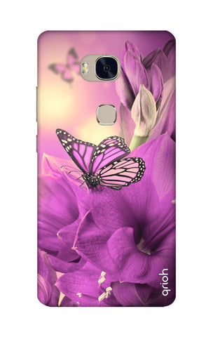 Purple Butterfly Honor 5X Cases & Covers Online