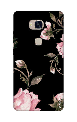 Pink Roses On Black Honor 5X Cases & Covers Online