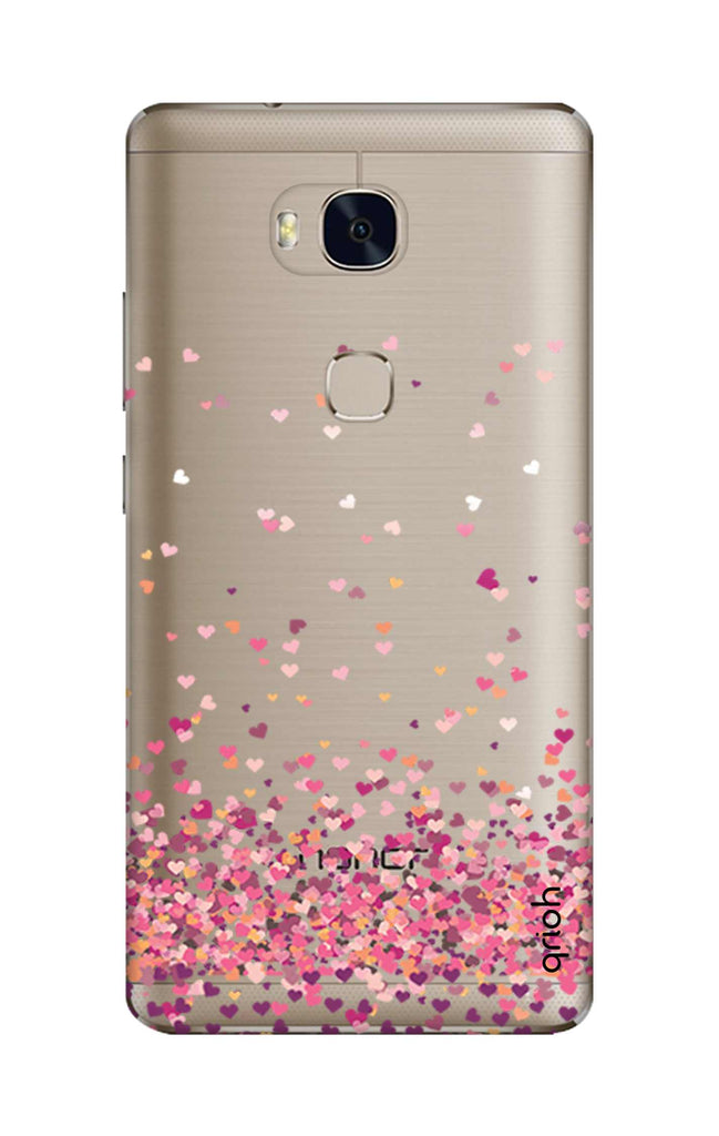 the best attitude 9c160 793e2 Cluster Of Hearts Case for Honor 5X