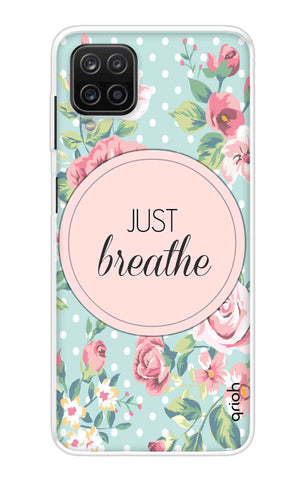 Vintage Just Breathe Samsung Galaxy A12 Cases & Covers Online