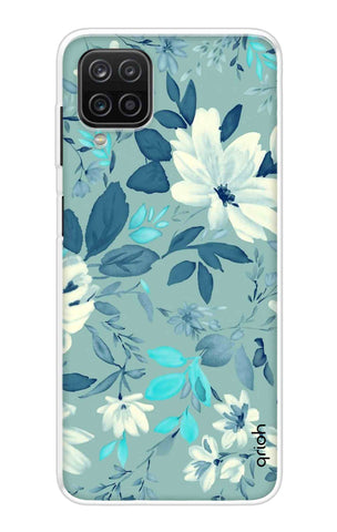 White Lillies Samsung Galaxy A12 Cases & Covers Online