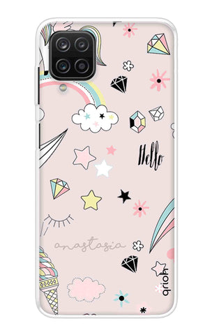 Unicorn Doodle Samsung Galaxy A12 Cases & Covers Online