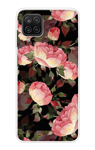 Watercolor Roses Samsung Galaxy A12 Cases & Covers Online