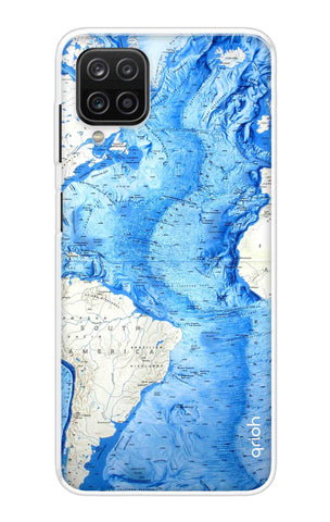 World Map Samsung Galaxy A12 Cases & Covers Online