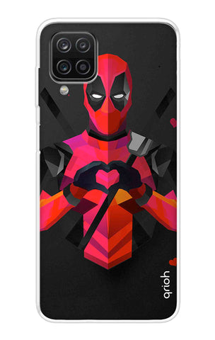 Valentine Deadpool Samsung Galaxy A12 Cases & Covers Online