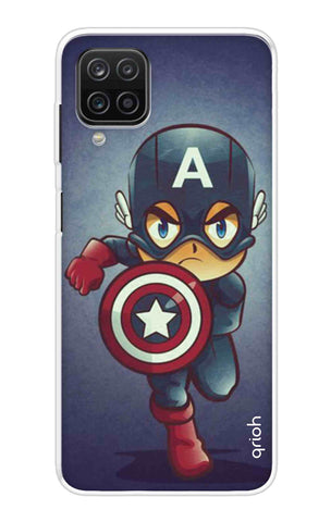 Toy Capt America Samsung Galaxy A12 Cases & Covers Online