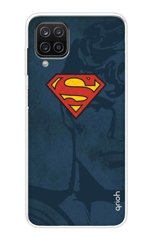 Wild Blue Superman Samsung Galaxy A12 Cases & Covers Online
