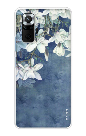 White Flower Mi Redmi Note 10 Pro Max Cases & Covers Online