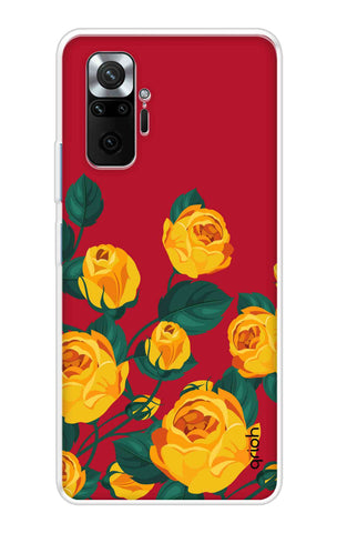 Yellow Floral Case Mi Redmi Note 10 Pro Max Cases & Covers Online
