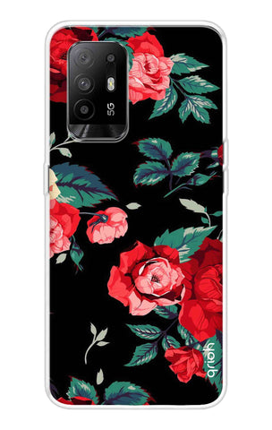 Wild Flowers Oppo F19 Pro Plus Cases & Covers Online