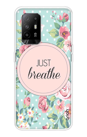Vintage Just Breathe Oppo F19 Pro Plus Cases & Covers Online