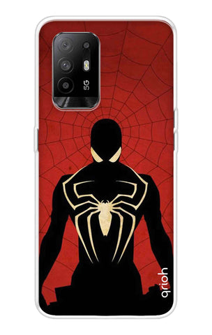 Spider in Men Oppo F19 Pro Plus Cases & Covers Online