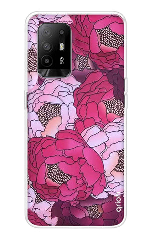 Vector Floral Oppo F19 Pro Plus Cases & Covers Online