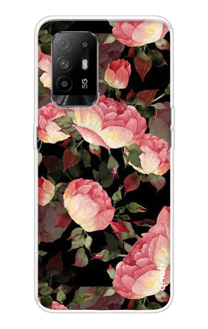 Watercolor Roses Oppo F19 Pro Plus Cases & Covers Online