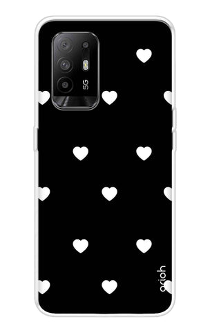 White Heart Oppo F19 Pro Plus Cases & Covers Online