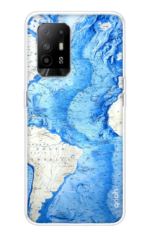 World Map Oppo F19 Pro Plus Cases & Covers Online