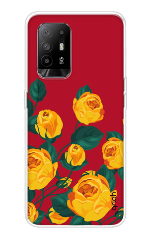Yellow Floral Case Oppo F19 Pro Plus Cases & Covers Online