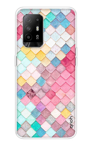 Colorful Pattern Oppo F19 Pro Plus Cases & Covers Online