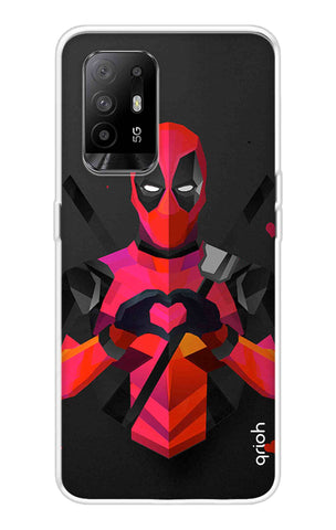 Valentine Deadpool Oppo F19 Pro Plus Cases & Covers Online