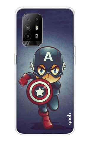 Toy Capt America Oppo F19 Pro Plus Cases & Covers Online