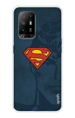 Wild Blue Superman Oppo F19 Pro Plus Cases & Covers Online