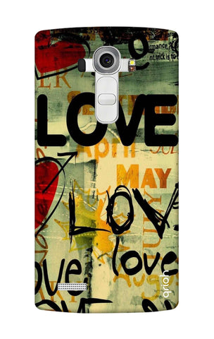 Love Text LG G4 Cases & Covers Online