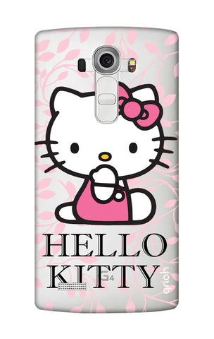 Hello Kitty Floral LG G4 Cases & Covers Online