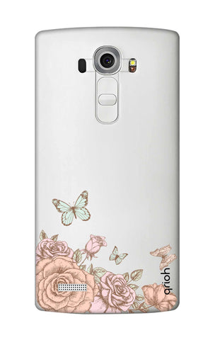 Flower And Butterfly LG G4 Cases & Covers Online