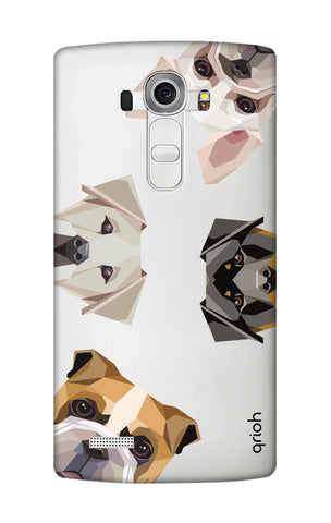 Geometric Dogs LG G4 Cases & Covers Online