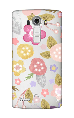 Multi Coloured Bling Floral LG G4 Cases & Covers Online