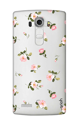 Pink Rose All Over LG G4 Cases & Covers Online