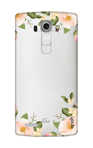 Flower In Corner LG G4 Cases & Covers Online