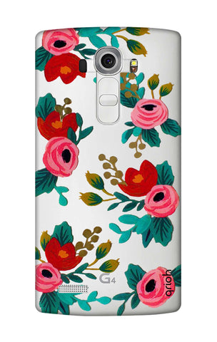 Red Floral LG G4 Cases & Covers Online